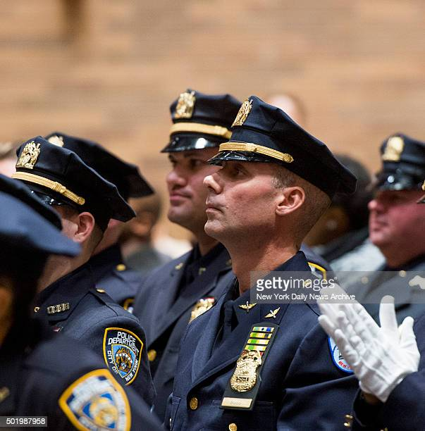 NYPD member Kenneth Boss gets promoted to Sergeant December 17 17 years after divisive shooting of Amadou Diallo at One Police Plaza in New York City