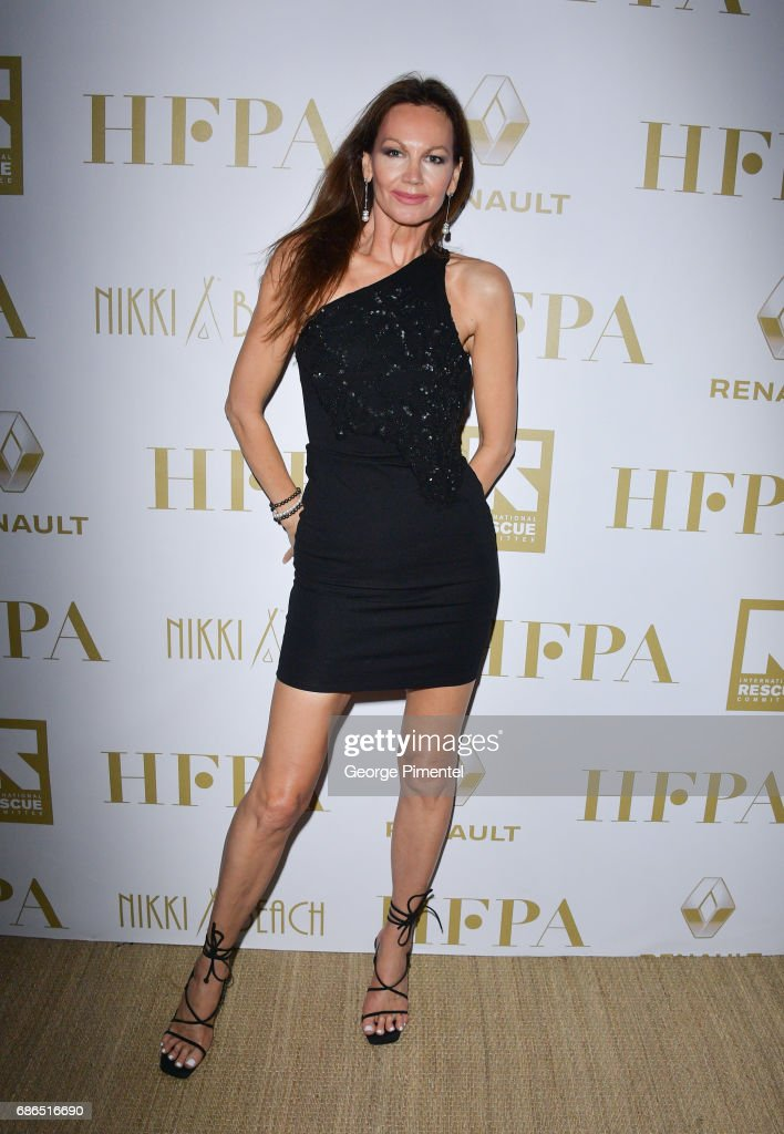HFPA member Margaret Gardiner attends the Hollywood Foreign Press Association's 2017 Cannes Film Festival Event in honour of the International Rescue Committee during the 70th Annual Cannes Film Festival on May 21, 2017 in Cannes, France.