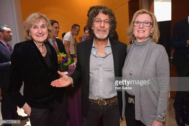 Member Music Branch Dana Kaproff attends the Academy Museum Conversation at The Times Center featuring Whoopi Goldberg Kerry Brougher and Renzo Piano...
