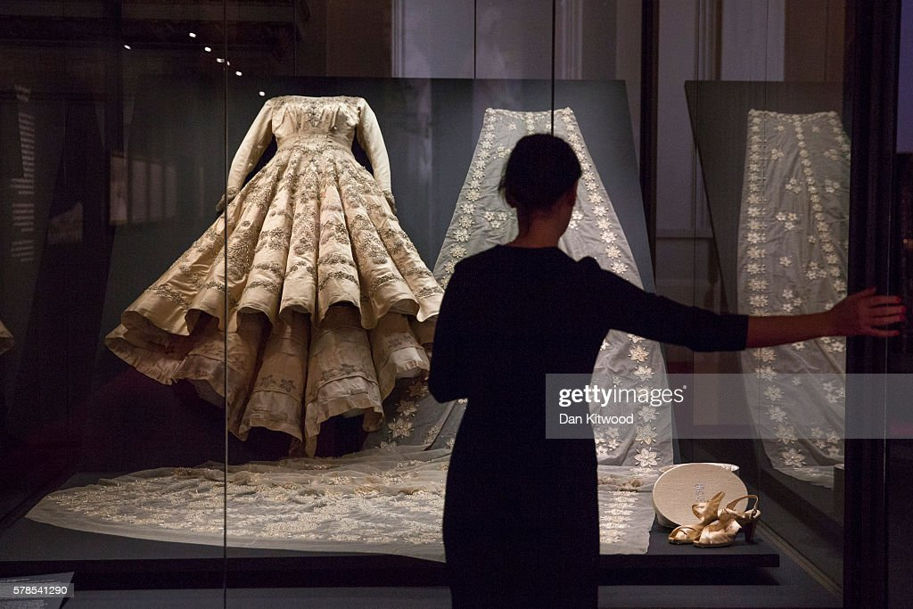 Preview Of Fashioning A Reign: 90 Years Of Style From The Queen's Wardrobe Summer Exhibition : News Photo