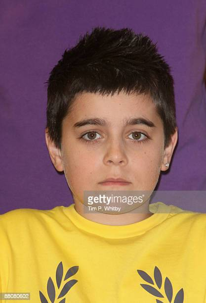 Member of Diversity Mitchell Craske attends a press conference after winning Britains Got Talent in the live final at Sony Headquarters on May 31...