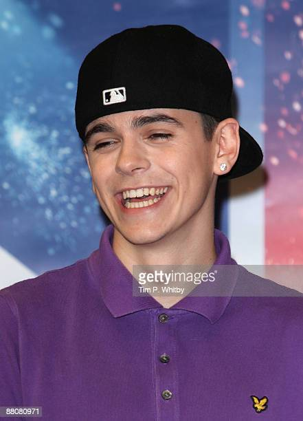 Member of Diversity Sam Craske attends a press conference after winning Britains Got Talent in the live final at Sony Headquarters on May 31 2009 in...