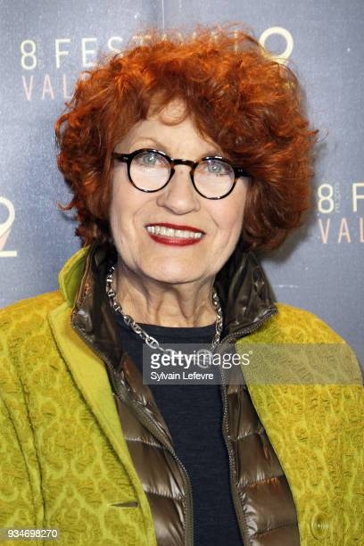 Member of documentary jury Andrea Ferreol attends Valenciennes Film festival photocall for opening ceremony of Documentary Competition on March 19...