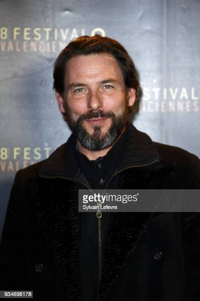 Member of documentary jury Sagamore Stevenin attends Valenciennes Film festival photocall for opening ceremony of Documentary Competition on March 19...