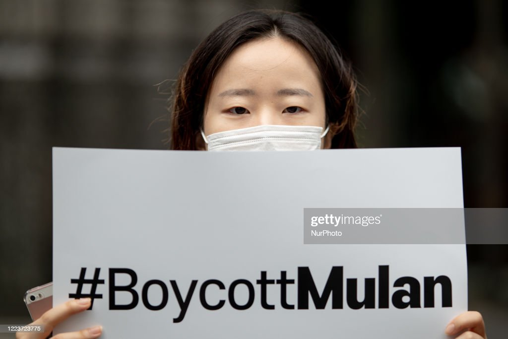South Korean Boycott The Walt Disney's New Film Mulan, Seoul : News Photo