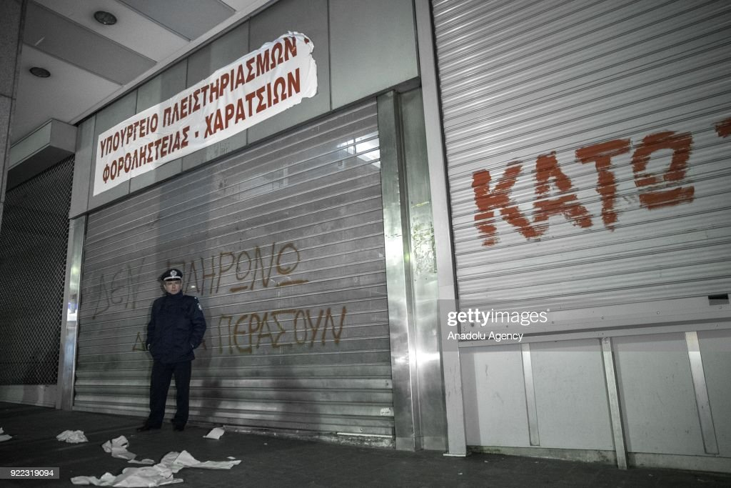 Protest in Athens : News Photo