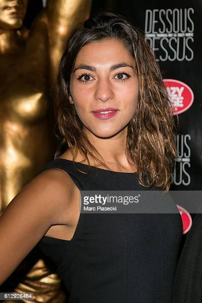 Member of group 'LEJ' Lucie Lebrun attends the 'Chantal Thomass Dessous Dessus' show Premiere at Le Crazy Horse on October 5 2016 in Paris France
