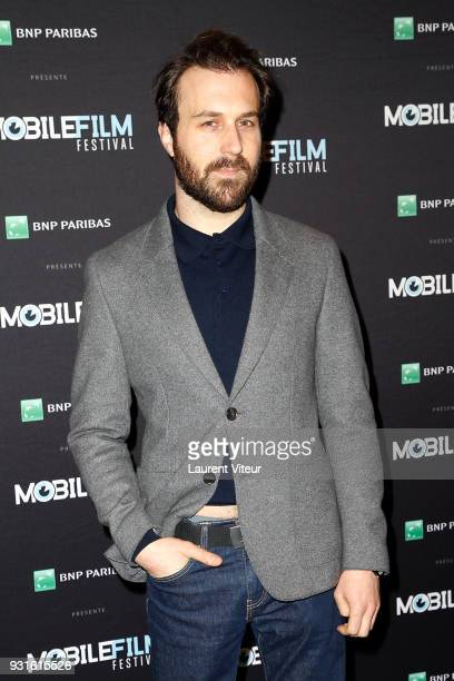 Member of Jury Actor Antoine Gouy attends 'Mobile Film Festival 2018' at Mk2 Bibliotheque on March 13 2018 in Paris France