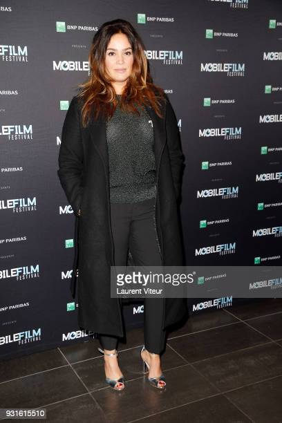 Member of Jury Actress Lola Dewaere attends Mobile Film Festival 2018 at Mk2 Bibliotheque on March 13 2018 in Paris France