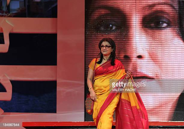 Member of jury Indian director and actress Aparna Sen arrives at the opening ceremony of the Marrakech 11th International Film Festival in Marrakech...