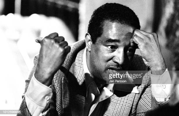 Member of Milt Jackson Quartet American jazz bassist Ray Brown at Jazzhus Montmartre Copenhagen Denmark 1981