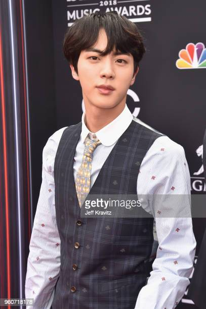 Member of musical group BTS attend the 2018 Billboard Music Awards at MGM Grand Garden Arena on May 20 2018 in Las Vegas Nevada