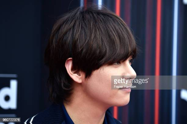 Member of musical group BTS attends the 2018 Billboard Music Awards at MGM Grand Garden Arena on May 20 2018 in Las Vegas Nevada