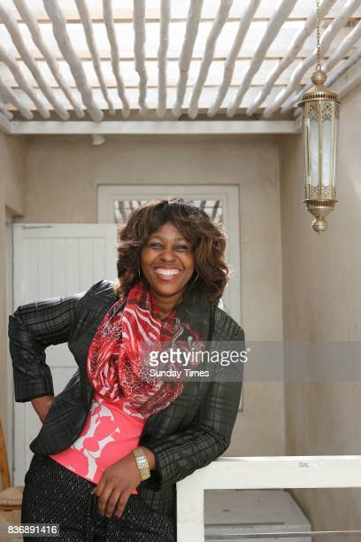 Member of Parliament Makhosi Khoza opens up about her upbringing family and political career during an interview on August 14 2017 in Cape Town South...