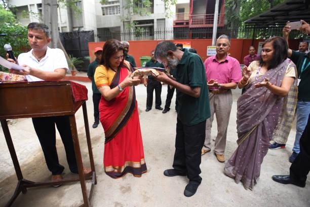 IND: Member Of Parliament Meenakshi Lekhi Inaugurates Community Wet Waste Composting Unit