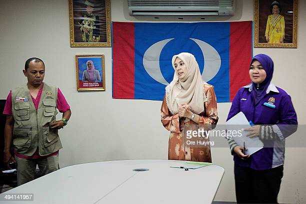 Member of Parliament Nurul Izzah Anwar addresses the residents of Lembah Pantai in her Parti Keadilan Rakyat office during a weekly MeettheResidents...