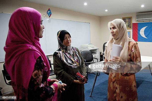 Member of Parliament Nurul Izzah Anwar interacts residents of Lembah Pantai in her Parti Keadilan Rakyat office during a weekly MeettheResidents...