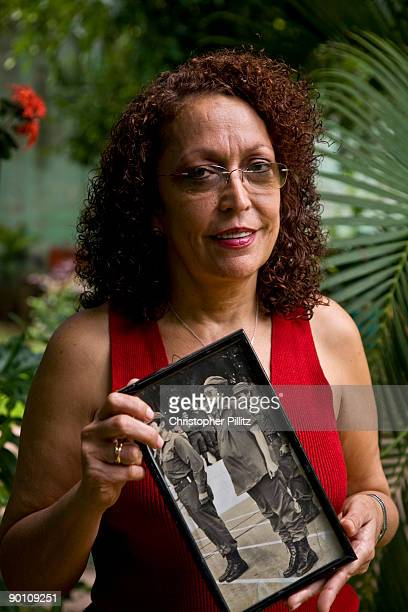 Member of Parliment Monica Baltodano a former Guerrillera comander during the Sandinista revolution today is the chairwomen of a dissident sandinista...