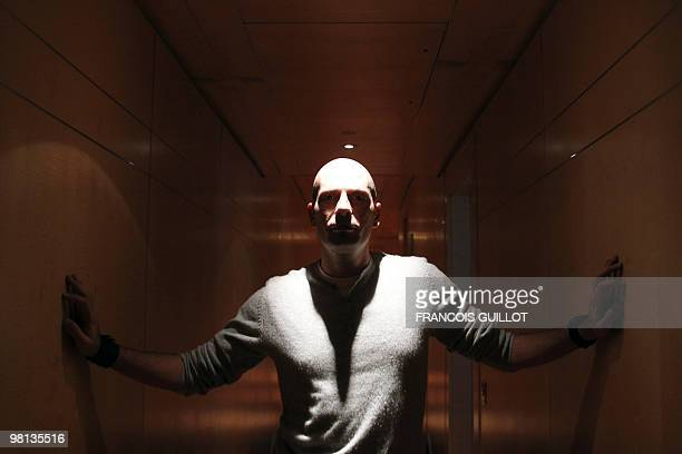 Member of pioneering French rap group IAM Akhenaton poses on march 22 2010 in Paris AFP PHOTO FRANCOIS GUILLOT