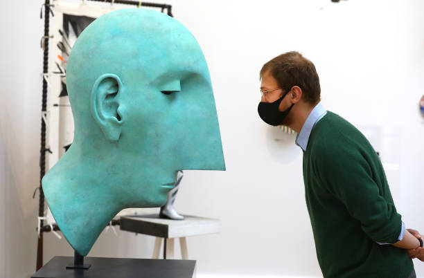 GBR: Summer Exhibition 2020 At The Royal Academy - Photocall
