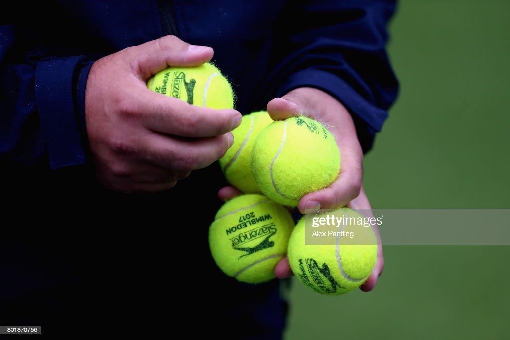 2017 Wimbledon Qualifying  Session : News Photo