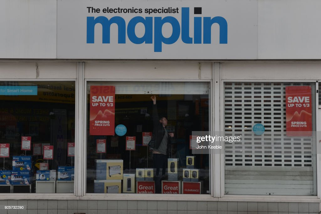 Maplin Collapses Into Administration Pictures | Getty Images