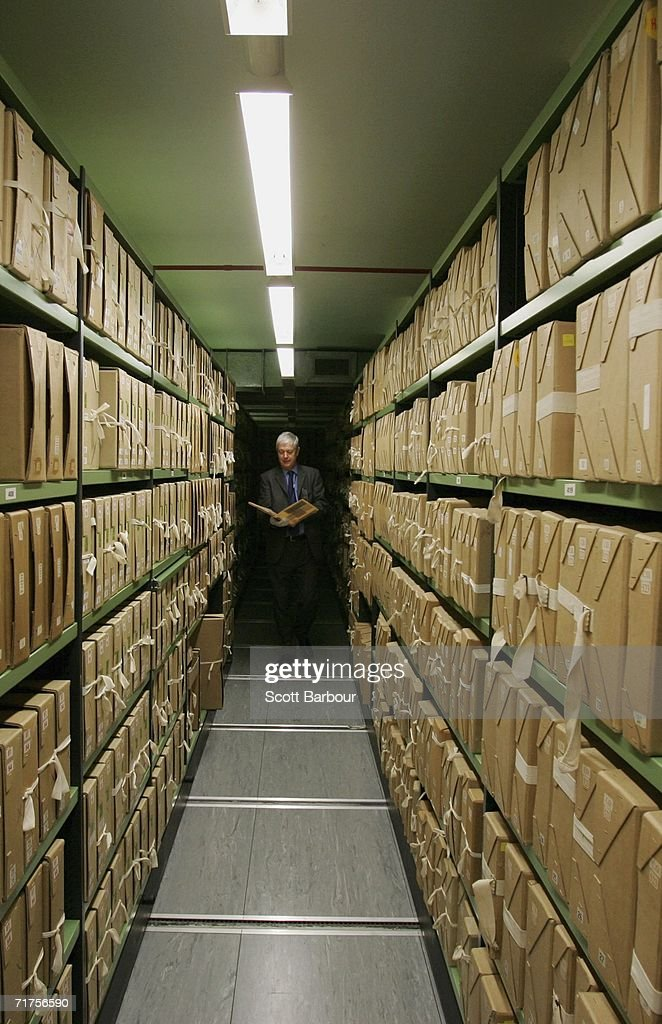 Behind The Scences Of The National Archive : News Photo