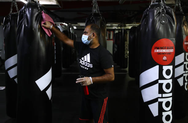 ARE: Boxing In Dubai Adjusts To Life Under Lockdown