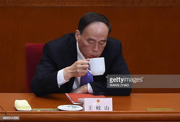 Member of standing Committee of Political Bureau of CPC Central Committee and secretary of the CPC Central Commission for Discipline Inspection Wang...