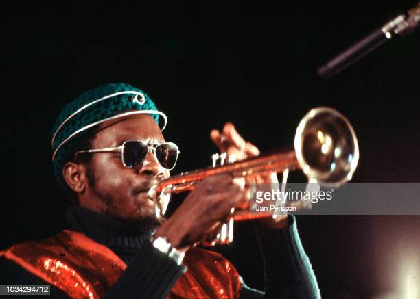 Member of Sun Ra Arkestra American jazz trumpeter Kwame Hadi Berlin Germany November 1970
