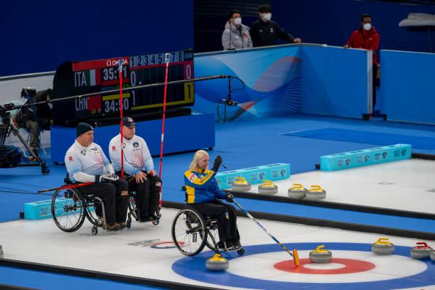 CHN: World Wheelchair Curling Championship 2021 - Sweden v USA