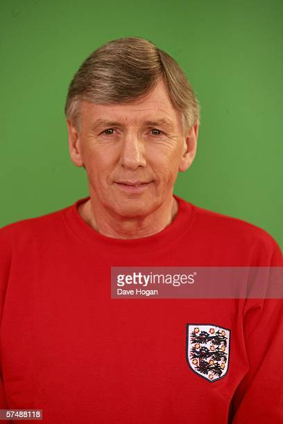 Member of the 1966 England World Cup team Martin Peters is filmed for the video to accompany an England World Cup song Who Do You Think You Are...