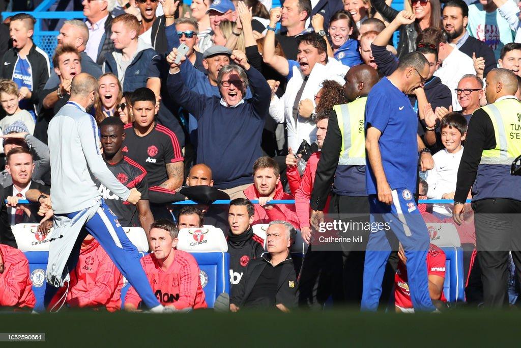 Chelsea FC v Manchester United - Premier League : Nieuwsfoto's
