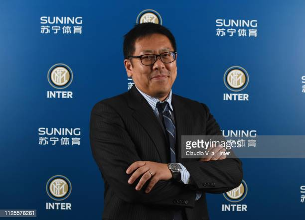Member of the Board of FC Internazionale Daniel Kar Keun Tseung poses for a photo during the FC Internazionale shareholders meeting at Stadio...