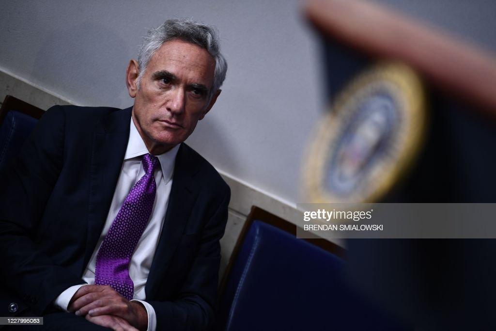 US-POLITICS-TRUMP-HEALTH-VIRUS : News Photo