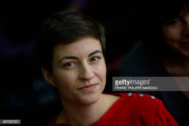 Member of the European Parliament from Alliance '90/The Greens German Ska Keller looks on during a debate of the European Green Party in Madrid on...