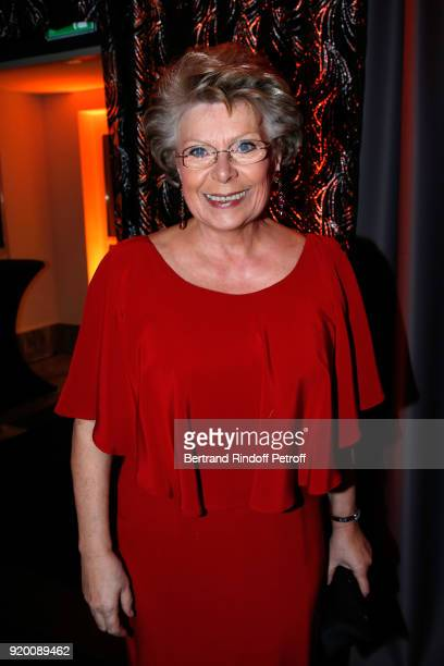 Member of the European Parliament Vivian Reding attends the 'Snow Night La Nuit des Neiges' Charity Gala on February 17 2018 in CransMontana...