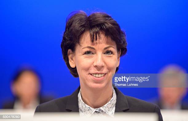 Member of the Executive Board Deutsche Boerse AG Hauke Stars pictured at the German stock exchange's annual general meeting at Jahrhunderthalle on...