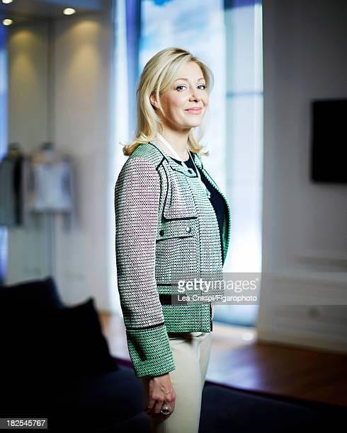 107411002 Member of the Executive Board of Swarovski Nadja Swarovski is photographed for Madame Figaro on July 4 2013 in Paris France PUBLISHED IMAGE...