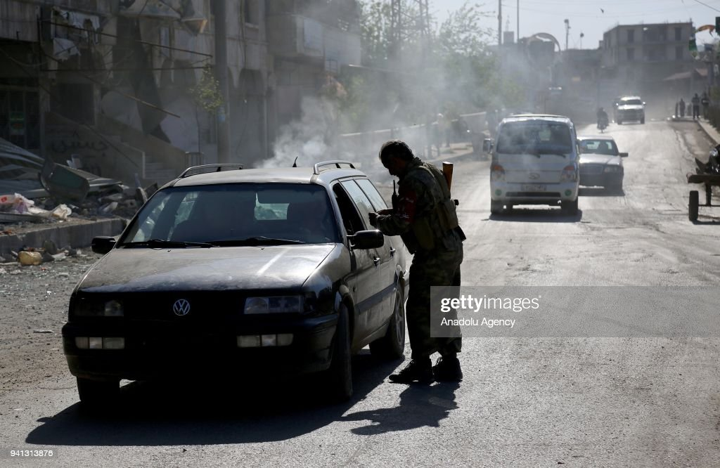 Security increased in Afrin : News Photo