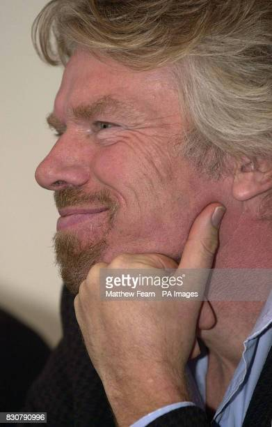Member of the Freedom to Fly coalition Sir Richard Branson Chairman of Virgin Atlantic during the coalition's launch in London The coalition are...