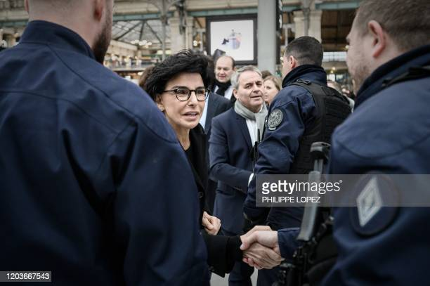 Member of the French right-wing Les Republicains party and mayor of the 7th district of Paris and candidate for the Paris mayoral election Rachida...