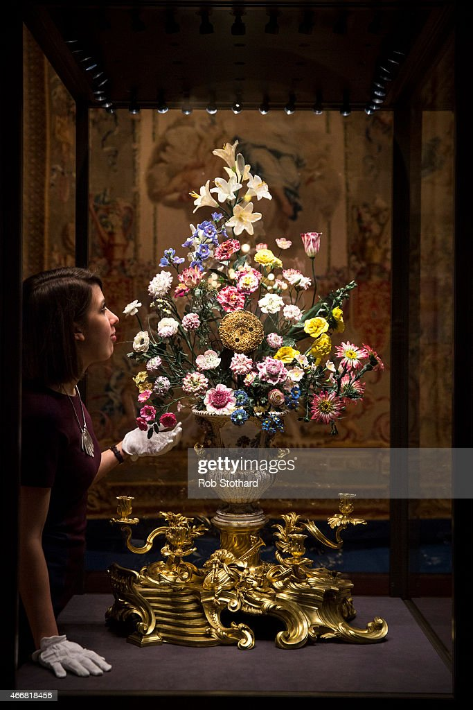 The Royal Collection Preview Their New Exhibition Titled Painting Paradise: The Art Of The Garden : News Photo