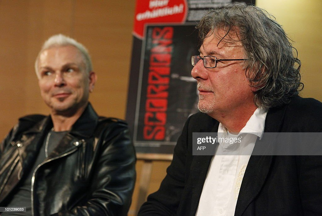 Member of the German rock band Scorpions Rudolf Schenker and