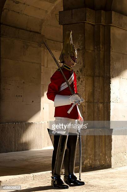 Member of the Household Cavalry Regiment, London