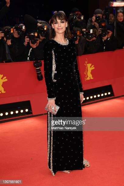 Member of the International Jury Berenice Bejo arrives for the opening ceremony and My Salinger Year premiere during the 70th Berlinale International...