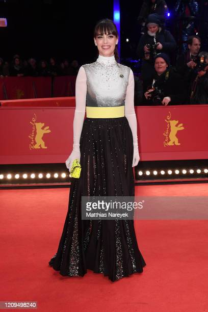 Member of the International Jury Berenice Bejo arrives for the closing ceremony of the 70th Berlinale International Film Festival Berlin at Berlinale...