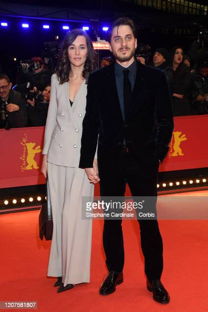 "Member of the International Jury Luca Marinelli and Alissa Jung arrive for the opening ceremony and ""My Salinger Year"" premiere during the 70th..."