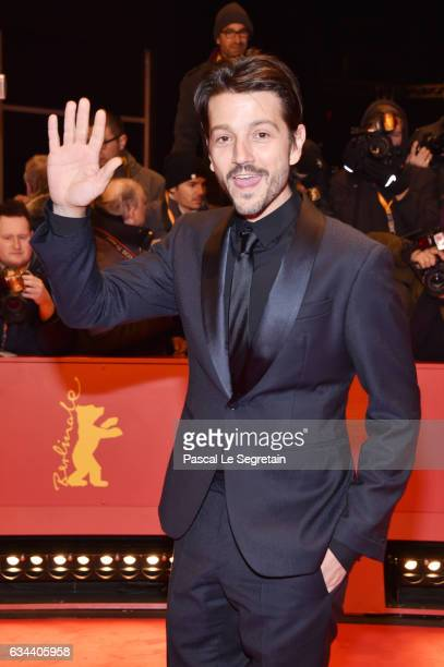Member of the International Jury Mexican director Diego Luna attends the 'Django' premiere during the 67th Berlinale International Film Festival...