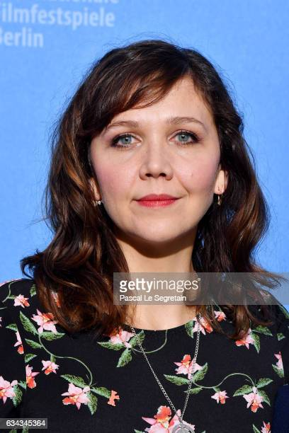 Member of the International jury of the Berlinale film festival US actress Maggie Gyllenhaal attends the International Jury photocall during the 67th...